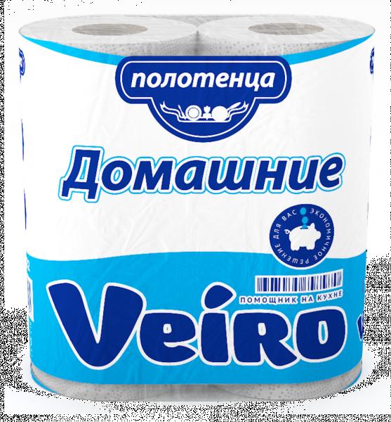 Полотенца бумажные кухонные Veiro Домашние / Classic, 2-сл., 2 рулона